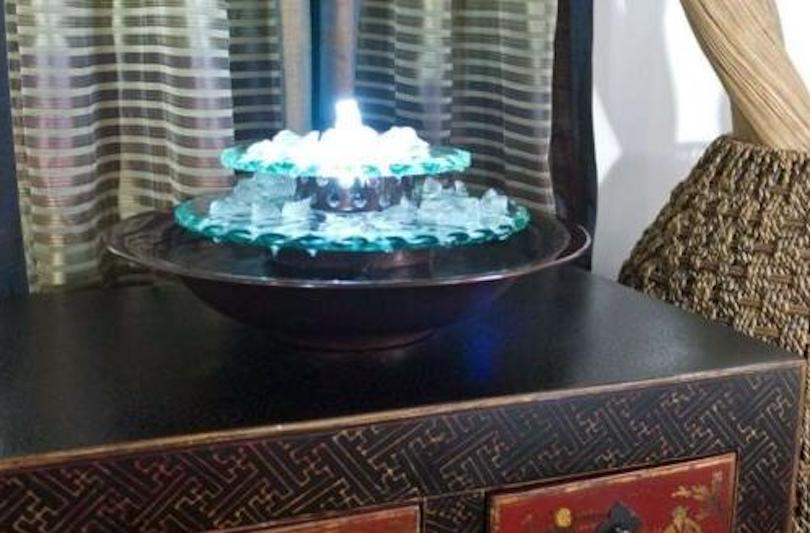 Stunning Tabletop Fountains for Relaxing and Chic Interior