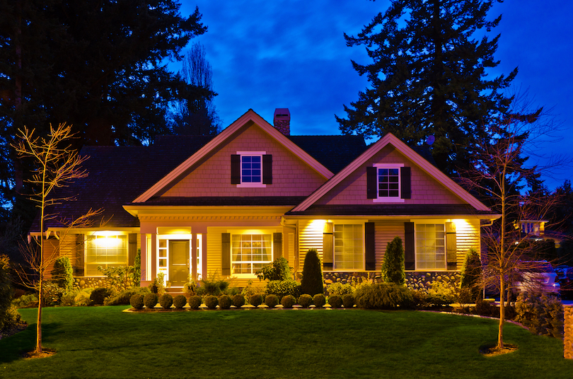 Add lighting for improving the ambiance of your house