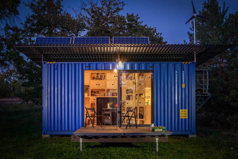 Shipping Container converted to Tiny House by Pin-Up Houses_8