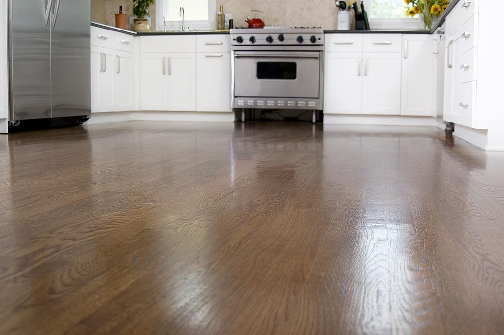 Flooring – Blend the theme of cool and clean
