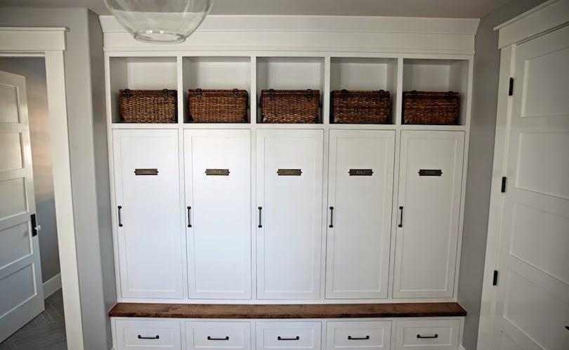 Garage Storage With Separate Cabinets
