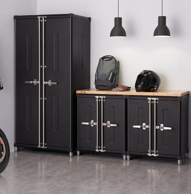 Two-Piece Storage Cabinets