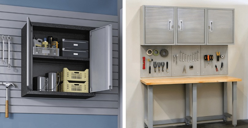 Wall-Mounted Storage Cabinets