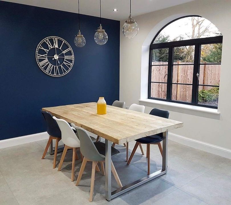 Creating bright feature wall to match