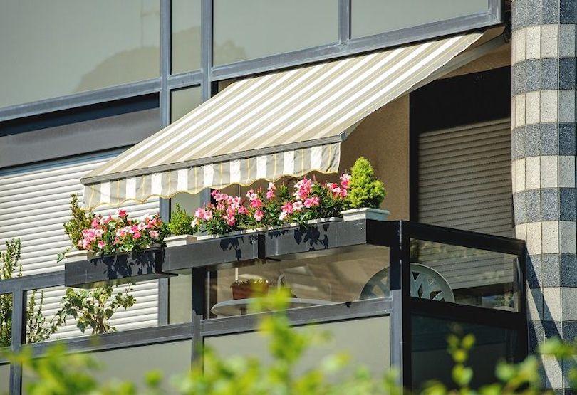 Block Harsh Sun Rays With a Fabric Canopy