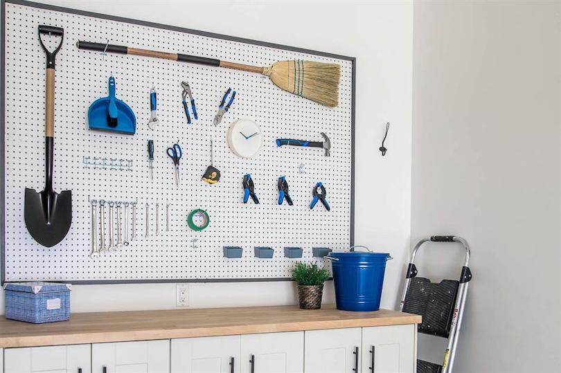 Pegboards & Underneath Cabinets