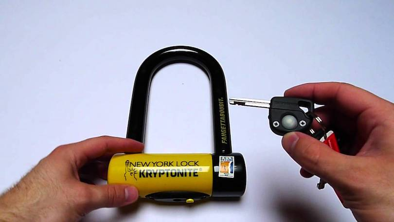Kryptonite New York Fahgettaboudit Mini Bike U-Lock
