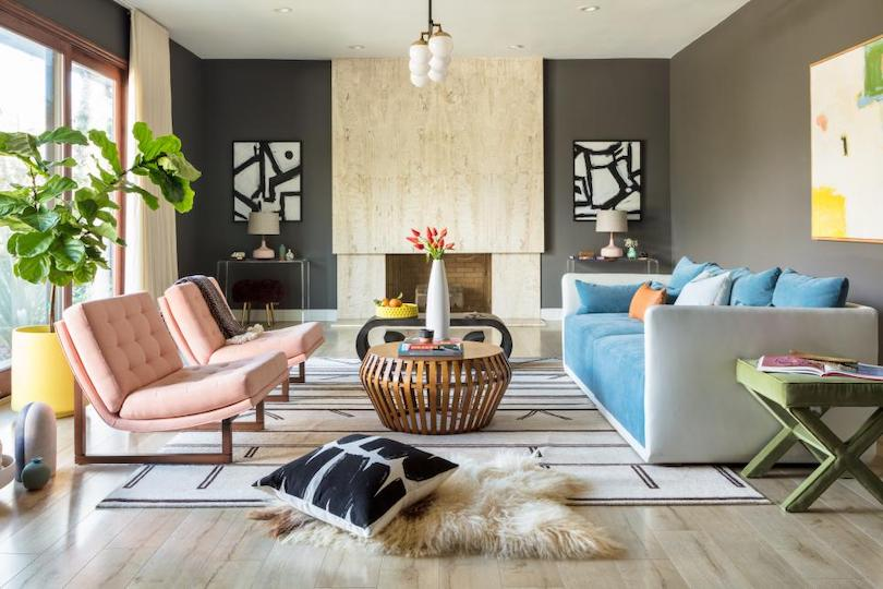 family room lounge designing - pep up home