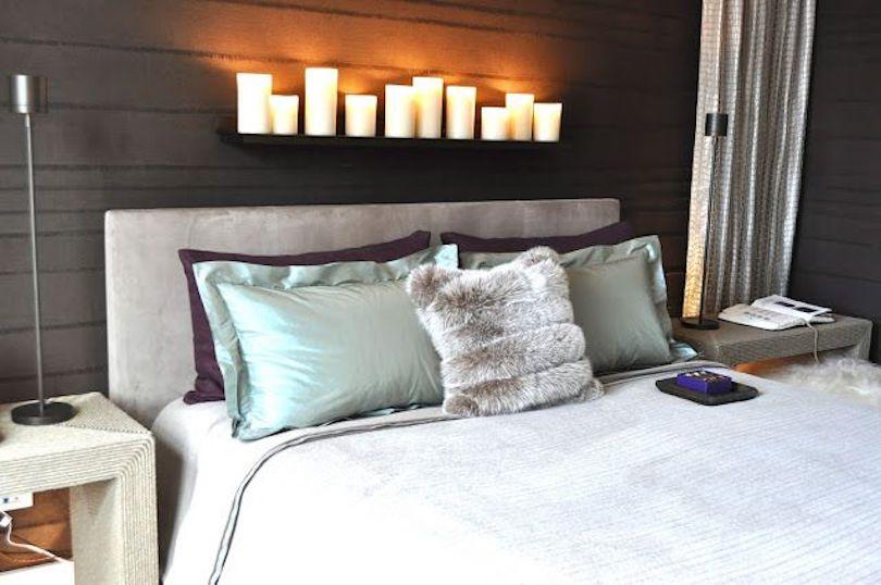 Bedrooms pep up home