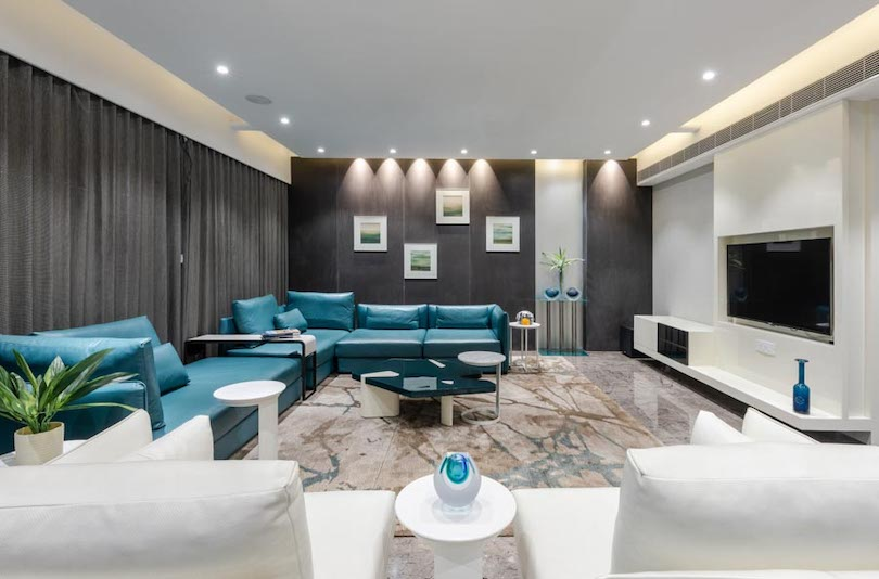 Family Room Design For a Musical Night