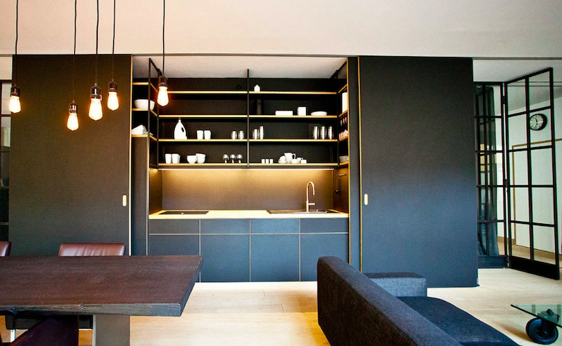 worktop and shelves