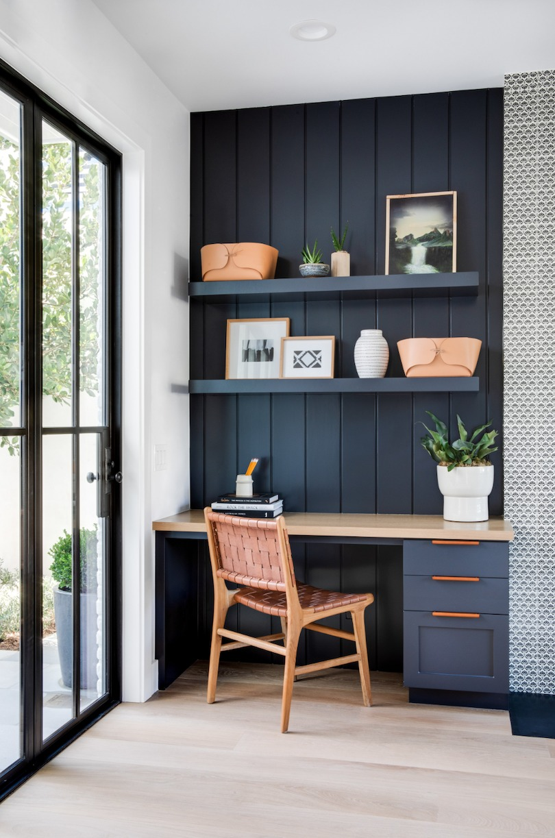 Turn Your Home Office Storage Into a Feature Wall