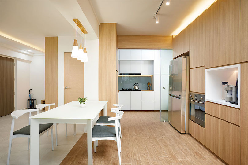 Light-Colored Wood Pep up Home