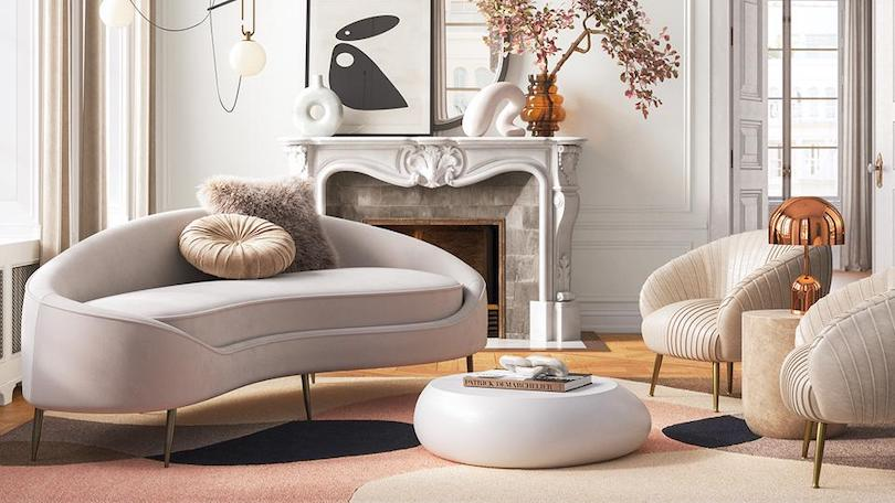 Rounded Furniture