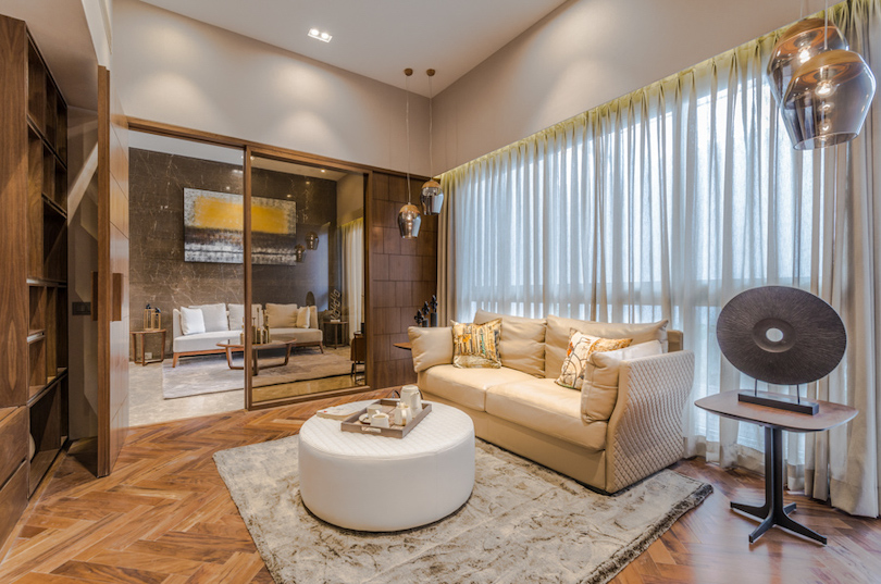 Sectional Family Room Design