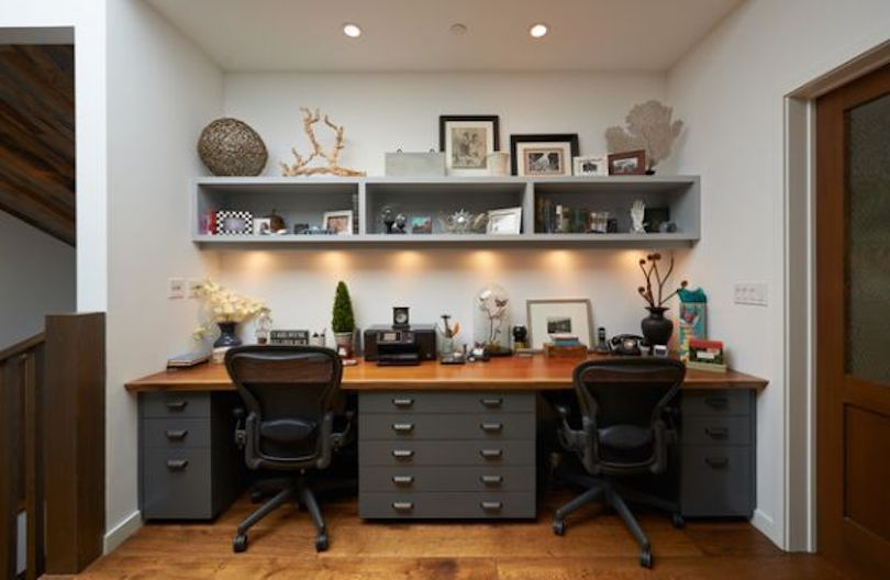 Form a Shared Workspace With Ample Storage