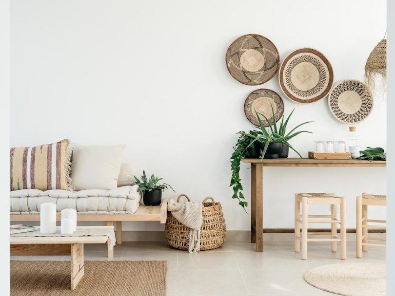 Materials, Like Terrazzo and Rattan Cane Pep up Home