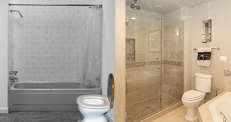 Turn Your Tub to a Shower - pep up home