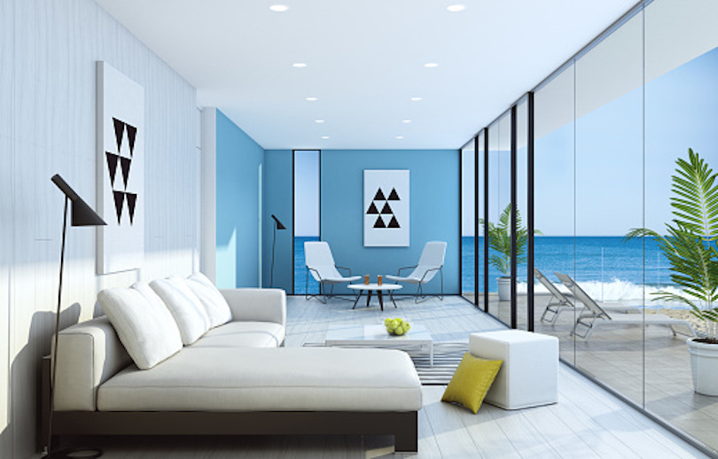 Home Decorating Ideas - Touch of blue