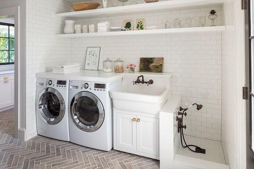 Laundry Room Ideas With Dog Washing Station