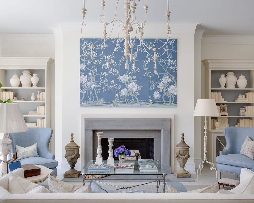 Find a focal point in your living room