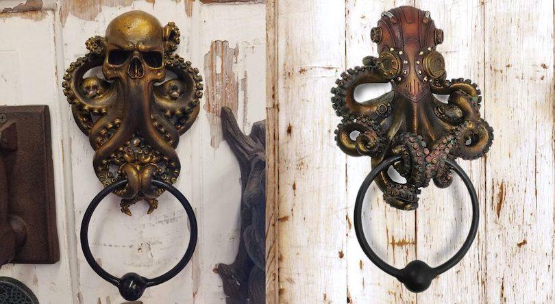 Cephalopods door knocker