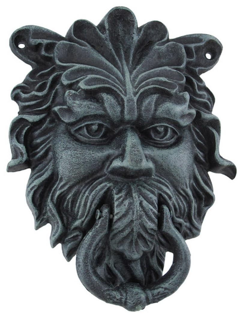Pagan temple door knocker
