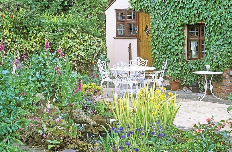 A Diverse Small Garden