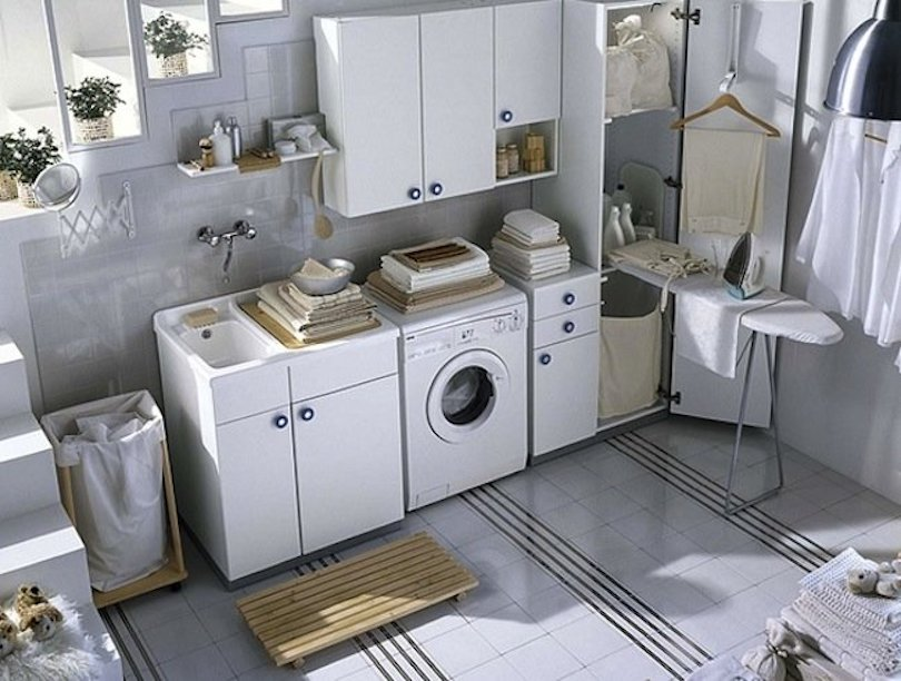 Maximize the existing laundry space