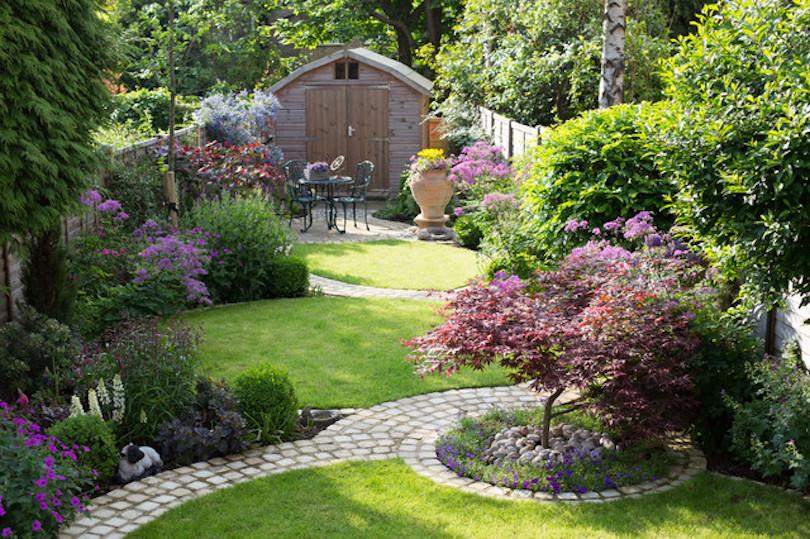 Small Rectangular Garden