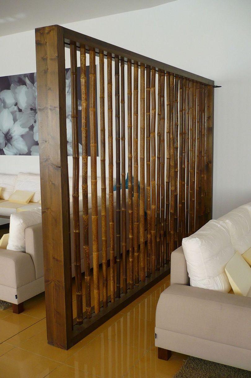 Bamboo Room Divider Ideas