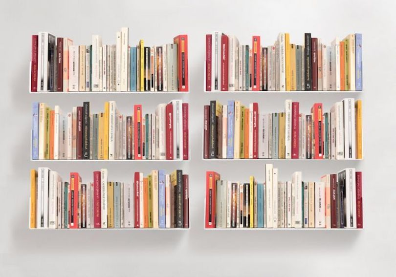 Floating Shelves To Organize Your Book Collection