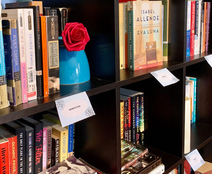 Organize Books by Genre