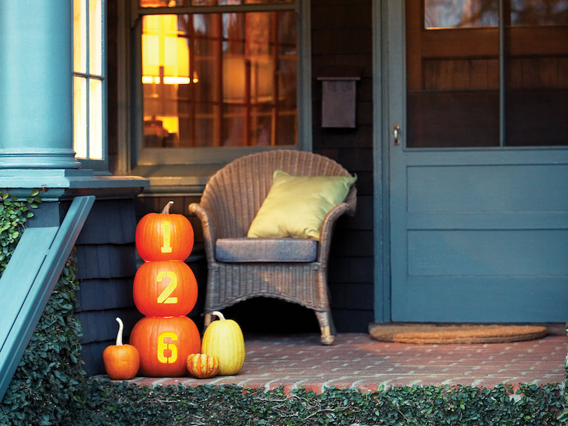 House Number Pumpkin Carving Ideas