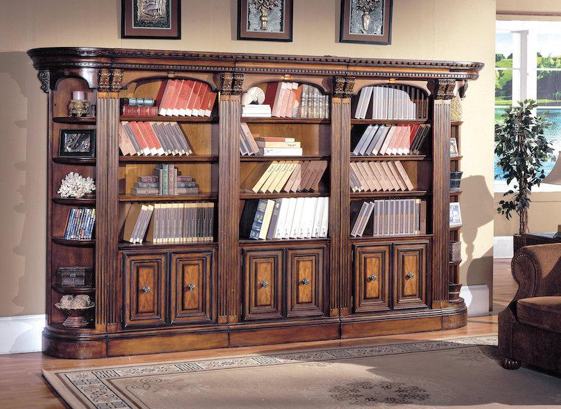 Traditional Bookshelf Designs