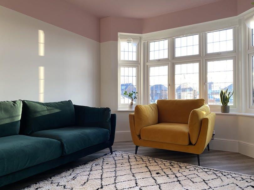 Color Blocking Sofa Design 2021