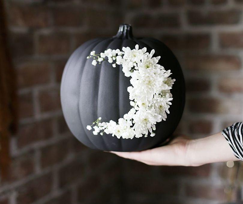 Flower Moon Pumpkin carving ideas