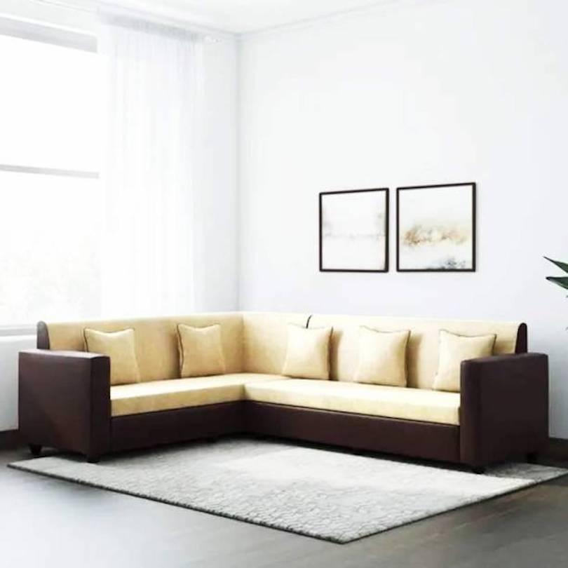Living Room Corner Sofa Design