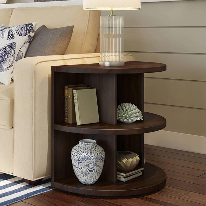 Small Bookshelf Side Table Ideas