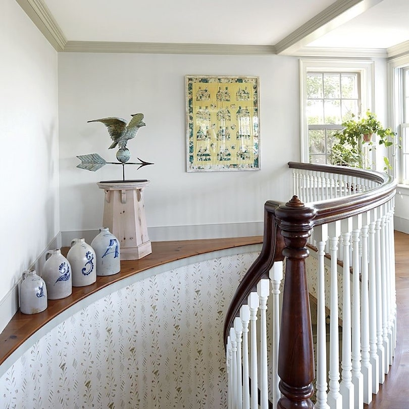 Use Stairs to Display Decor Pieces