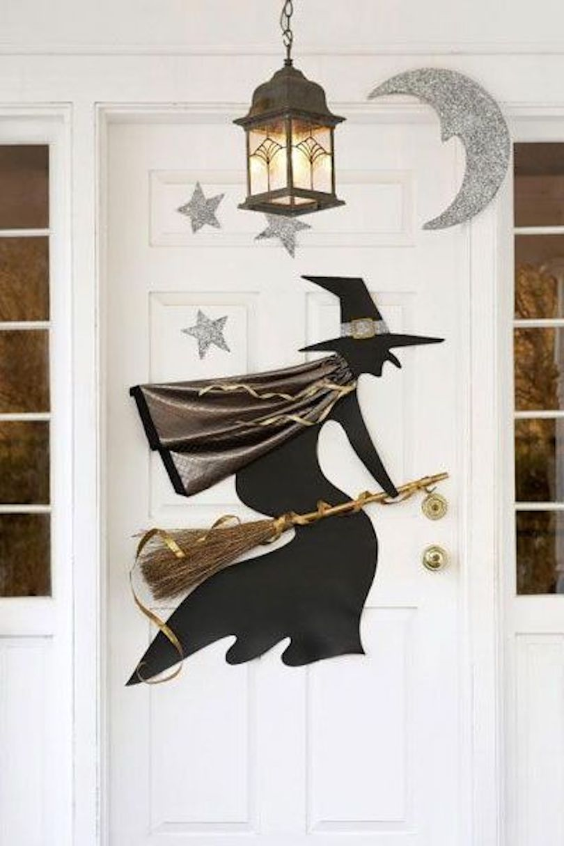 Awesome Halloween Front Door Decorations